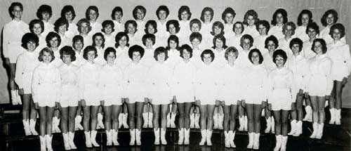 Indianettes drill team photo